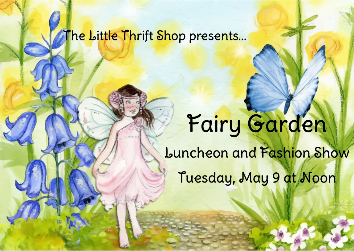 little thrift shop-fashion show-outreach